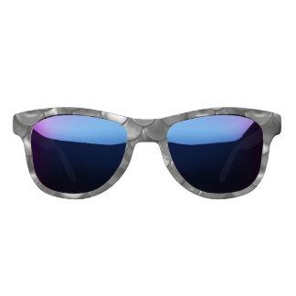 Falln Black and White Scales Sunglasses