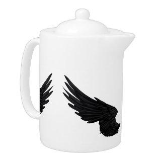 Falln Black Angel Wings
