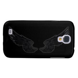 Falln Black Angel Wings Galaxy S4 Case