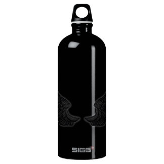 Falln Black Angel Wings SIGG Traveller 1.0L Water Bottle