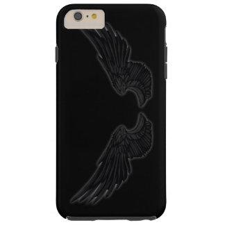 Falln Black Angel Wings Tough iPhone 6 Plus Case