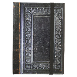 Falln Black Antique Book iPad Air Cover