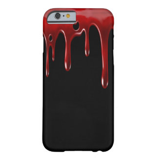 Falln Blood Drips Black Barely There iPhone 6 Case