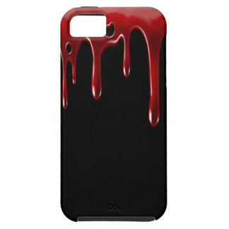 Falln Blood Drips Black iPhone 5 Covers