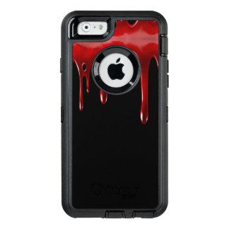 Falln Blood Drips Black OtterBox Defender iPhone Case
