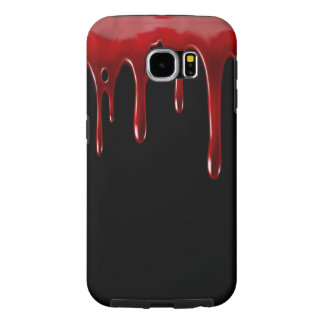 Falln Blood Drips Black Samsung Galaxy S6 Cases
