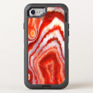 Falln Blood Orange Agate OtterBox Defender iPhone 8/7 Case