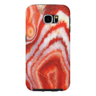 Falln Blood Orange Agate. Samsung Galaxy S6 Cases