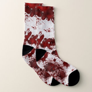 Falln Blood Splatter Socks