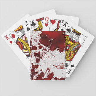 Falln Blood Stains Playing Cards
