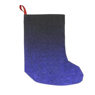 Falln Blue & Black Glitter Gradient