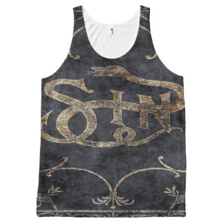 Falln Book of Sin All-Over Print Singlet