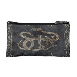 Falln Book of Sin Cosmetic Bag