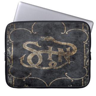 Falln Book of Sin Laptop Sleeve