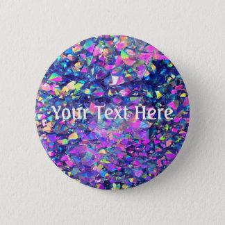 Falln Bubble Crystals 6 Cm Round Badge