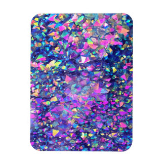 Falln Bubble Crystals Rectangular Photo Magnet
