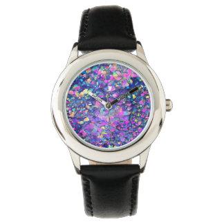 Falln Bubble Crystals Wrist Watch