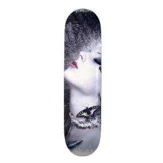 Falln Butterfly Original Art Skateboard
