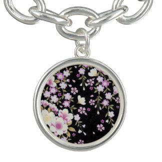Falln Cascading Pink Flowers
