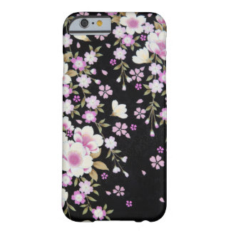 Falln Cascading Pink Flowers Barely There iPhone 6 Case