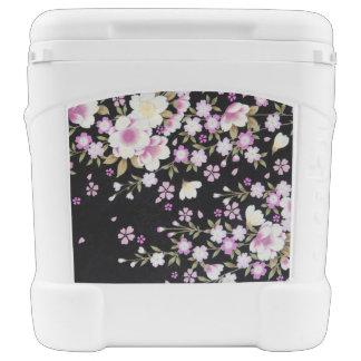 Falln Cascading Pink Flowers Cooler