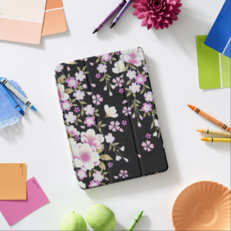 Falln Cascading Pink Flowers iPad Air Cover