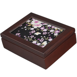 Falln Cascading Pink Flowers Memory Box