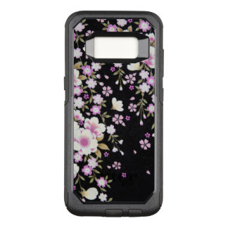Falln Cascading Pink Flowers OtterBox Commuter Samsung Galaxy S8 Case