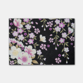 Falln Cascading Pink Flowers Post-it Notes