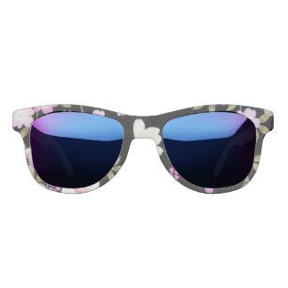 Falln Cascading Pink Flowers Sunglasses