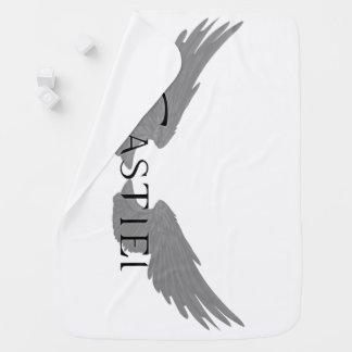 Falln Castiel With Wings Black Baby Blanket