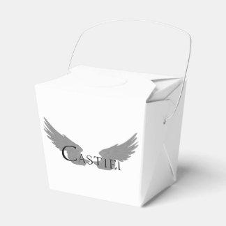 Falln Castiel With Wings Black Favour Box