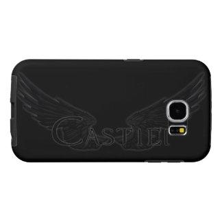 Falln Castiel With Wings Black Samsung Galaxy S6 Cases