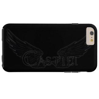 Falln Castiel With Wings Black Tough iPhone 6 Plus Case