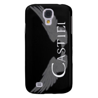 Falln Castiel With Wings White Samsung Galaxy S4 Covers