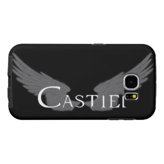 Falln Castiel With Wings White Samsung Galaxy S6 Cases