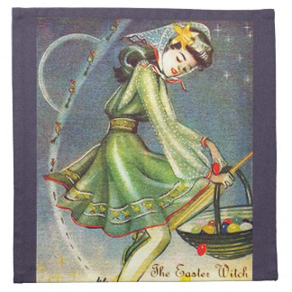 Falln Easter Witch Napkin