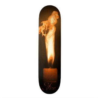 Falln Fire Original Art Custom Skateboard