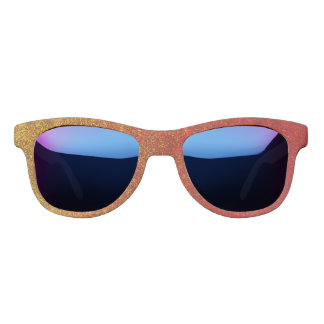 Falln Flame Glitter Gradient Sunglasses