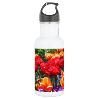 Falln Floral Crimson Waves 532 Ml Water Bottle