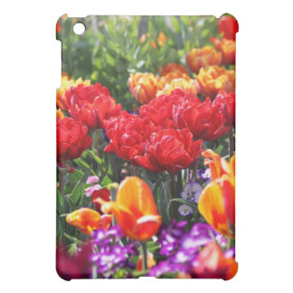 Falln Floral Crimson Waves iPad Mini Cases