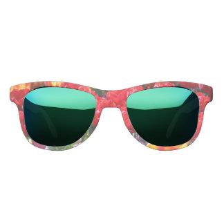 Falln Floral Crimson Waves Sunglasses