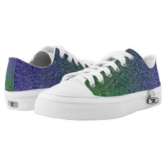 Falln Forest Nightfall Glitter Gradient Printed Shoes