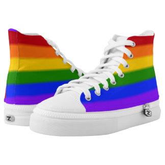 Falln Gay Pride Flag High Tops