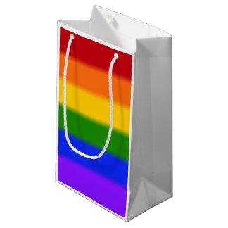 Falln Gay Pride Flag Small Gift Bag