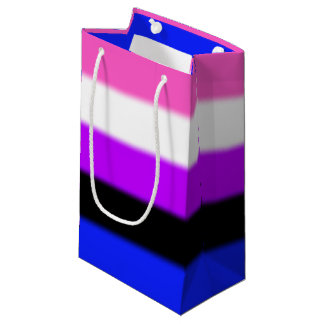 Falln Genderfluid Pride Flag Small Gift Bag