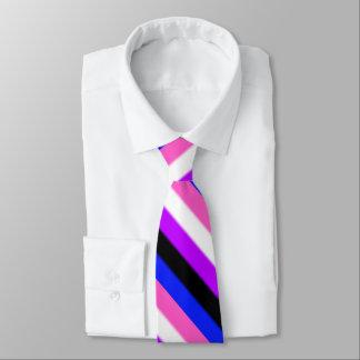 Falln Genderfluid Pride Flag Tie
