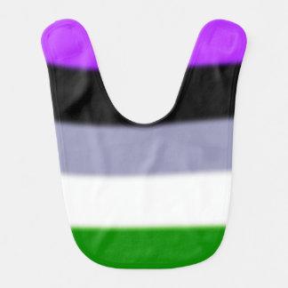 Falln Genderqueer Pride Flag Bibs