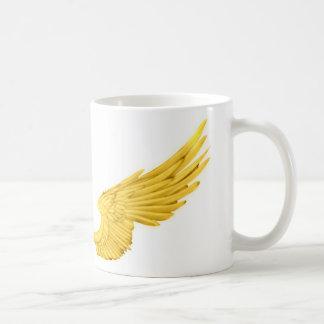 Falln Golden Angel Wings Coffee Mug