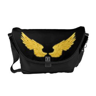 Falln Golden Angel Wings Commuter Bags